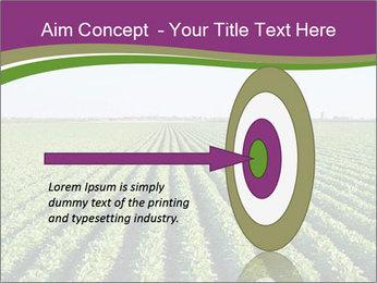 Green Field Till Horizon PowerPoint Template - Slide 83