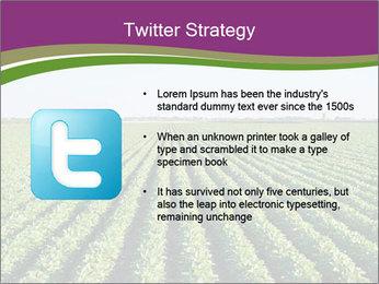 Green Field Till Horizon PowerPoint Template - Slide 9