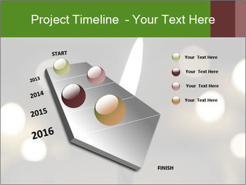 Candle Flame PowerPoint Template - Slide 26