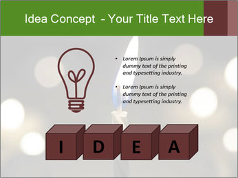 Candle Flame PowerPoint Template - Slide 80