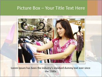 Friends In Shopping Mall PowerPoint Templates - Slide 15