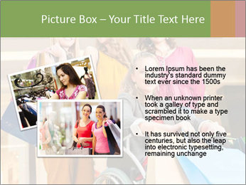 Friends In Shopping Mall PowerPoint Templates - Slide 20