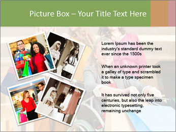 Friends In Shopping Mall PowerPoint Templates - Slide 23