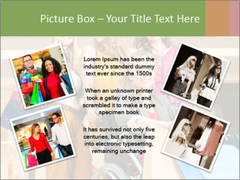 Friends In Shopping Mall PowerPoint Templates - Slide 24
