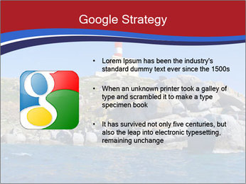 Lighthouse And Rock PowerPoint Templates - Slide 10