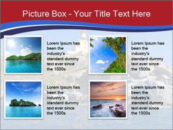 Lighthouse And Rock PowerPoint Templates - Slide 14