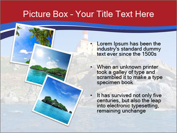 Lighthouse And Rock PowerPoint Templates - Slide 17