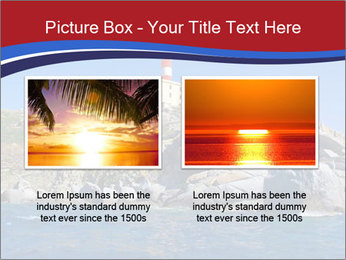 Lighthouse And Rock PowerPoint Templates - Slide 18