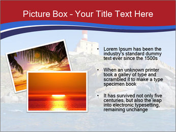 Lighthouse And Rock PowerPoint Templates - Slide 20