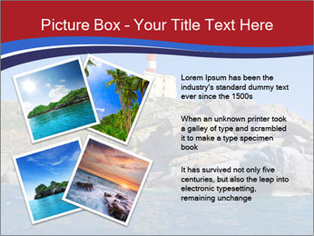 Lighthouse And Rock PowerPoint Templates - Slide 23