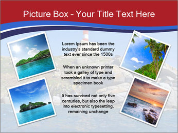 Lighthouse And Rock PowerPoint Templates - Slide 24