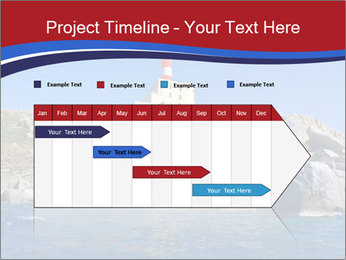Lighthouse And Rock PowerPoint Templates - Slide 25