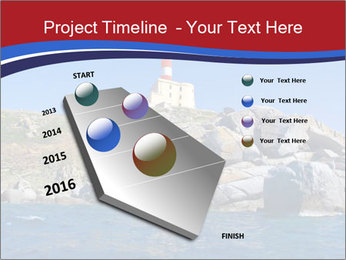 Lighthouse And Rock PowerPoint Templates - Slide 26