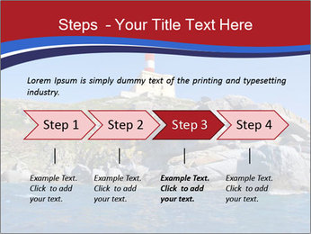 Lighthouse And Rock PowerPoint Templates - Slide 4