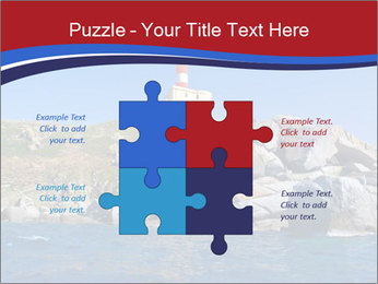 Lighthouse And Rock PowerPoint Templates - Slide 43