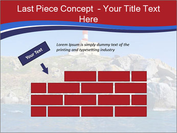 Lighthouse And Rock PowerPoint Templates - Slide 46