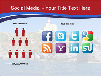 Lighthouse And Rock PowerPoint Templates - Slide 5