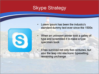Lighthouse And Rock PowerPoint Templates - Slide 8