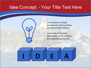Lighthouse And Rock PowerPoint Templates - Slide 80