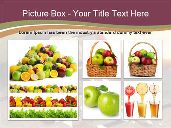 Apple And Nuts PowerPoint Templates - Slide 19