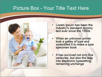 Woman And Newborn PowerPoint Template - Slide 13