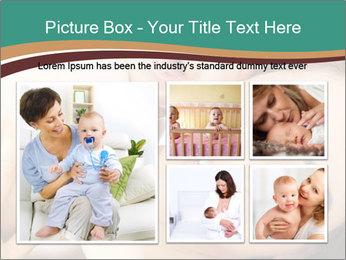 Woman And Newborn PowerPoint Template - Slide 19