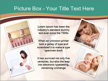 Woman And Newborn PowerPoint Template - Slide 24