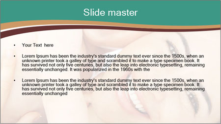 Woman And Newborn PowerPoint Template - Slide 2