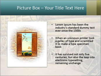 Old Wooden Cart PowerPoint Template - Slide 13