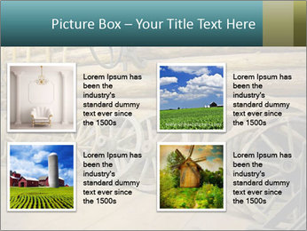 Old Wooden Cart PowerPoint Template - Slide 14