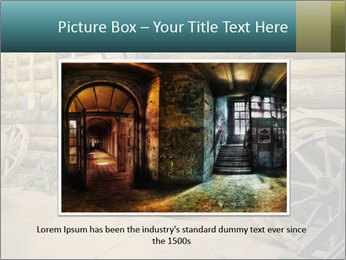 Old Wooden Cart PowerPoint Template - Slide 15