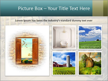 Old Wooden Cart PowerPoint Template - Slide 19