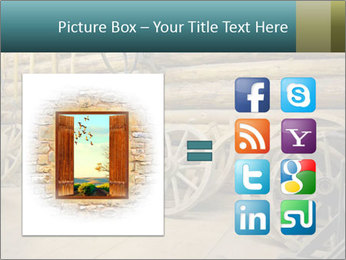 Old Wooden Cart PowerPoint Template - Slide 21