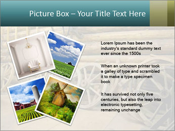Old Wooden Cart PowerPoint Template - Slide 23