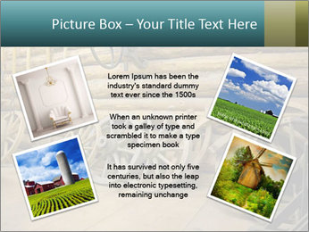 Old Wooden Cart PowerPoint Template - Slide 24