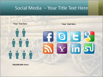 Old Wooden Cart PowerPoint Template - Slide 5