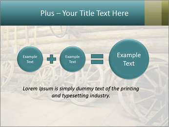 Old Wooden Cart PowerPoint Template - Slide 75