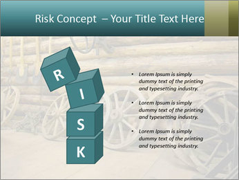 Old Wooden Cart PowerPoint Template - Slide 81