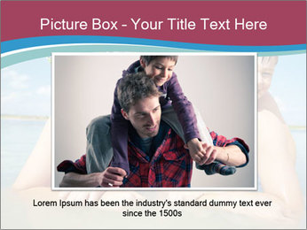 Family Sea Vacation PowerPoint Template - Slide 16