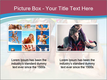 Family Sea Vacation PowerPoint Template - Slide 18
