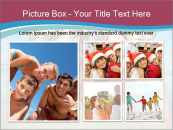 Family Sea Vacation PowerPoint Template - Slide 19