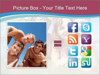 Family Sea Vacation PowerPoint Template - Slide 21