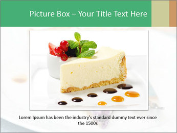 Berry Tart With Almond PowerPoint Template - Slide 15