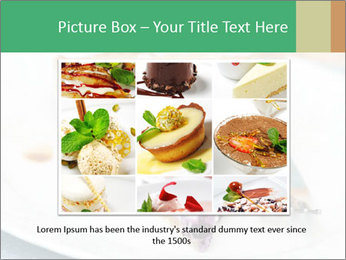 Berry Tart With Almond PowerPoint Template - Slide 16