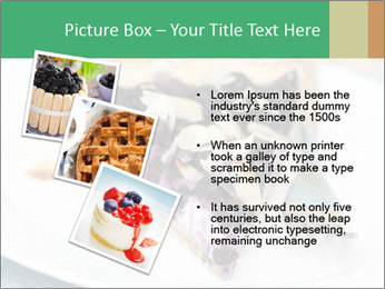 Berry Tart With Almond PowerPoint Template - Slide 17