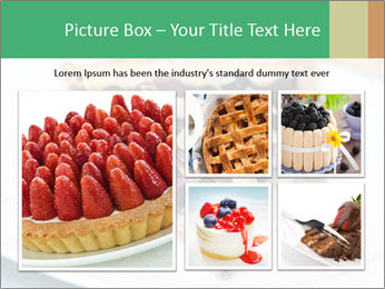 Berry Tart With Almond PowerPoint Template - Slide 19