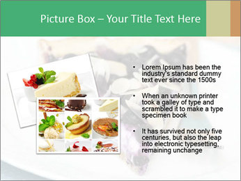 Berry Tart With Almond PowerPoint Template - Slide 20