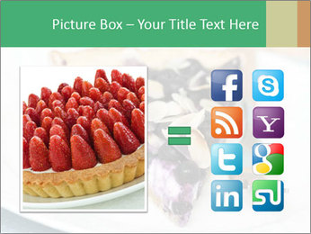 Berry Tart With Almond PowerPoint Template - Slide 21
