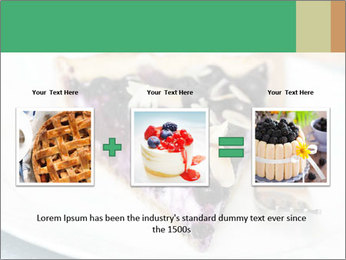 Berry Tart With Almond PowerPoint Template - Slide 22