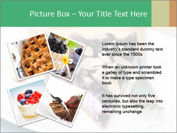Berry Tart With Almond PowerPoint Template - Slide 23